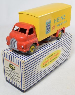 Other Collectibles DINKY #923 BIG BEDFORD VAN, HEINZ, BAKED BEANS, EXC MODEL IN VG+ ORIGINAL BOX