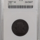Coin World/Numismatic News Featured Coins 1806 DRAPED BUST HALF CENT – SMALL 6, NO STEMS – C-1 – ANACS VF-25