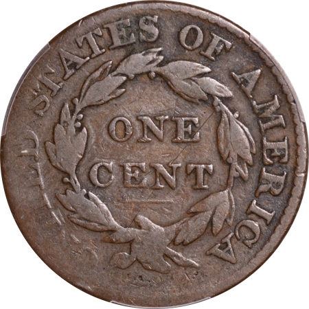 New Certified Coins 1826 CORONET HEAD LARGE CENT – PCGS G-04