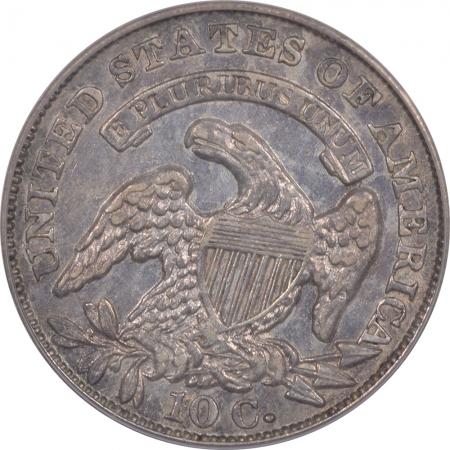 Capped Bust Dimes 1834 CAPPED BUST DIME – LARGE 4 – PCGS AU-50