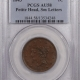 New Certified Coins 1842 BRAIDED HAIR LARGE CENT – LARGE DATE, PCGS AU-53