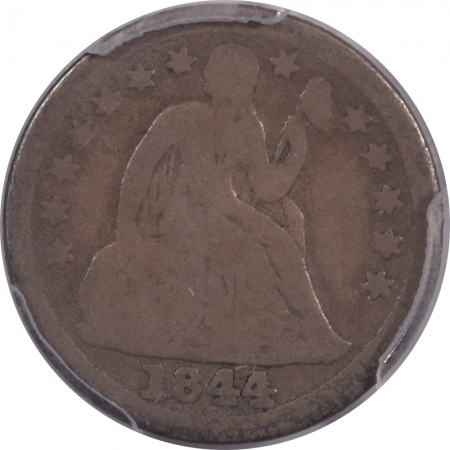 New Certified Coins 1844 SEATED LIBERTY DIME – PCGS G-4 PLEASING ORIGINAL & TOUGH!
