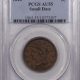 Braided Hair Large Cents 1847 BRAIDED HAIR LARGE CENT – PCGS AU-55, SMOOTH!
