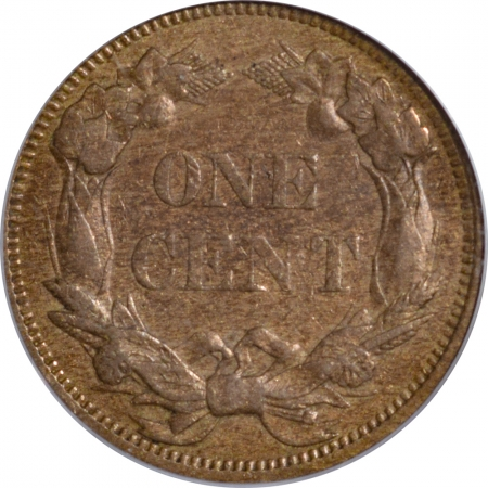 Flying Eagle 1858 FLYING EAGLE CENT – SMALL LETTERS – PCGS AU-53 PREMIUM QUALITY!