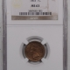CAC Approved Coins 1851 LARGE CENT PCGS MS-64 BN CAC, ORIGINAL & PQ