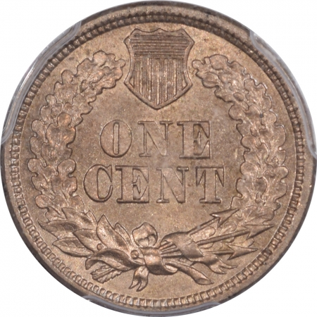 New Certified Coins 1864 INDIAN CENT – COPPER NICKEL PCGS MS-65 CAC, GREAT LUSTER PREMIUM QUALITY!