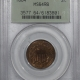 Lincoln Cents (Wheat) 1942 PROOF LINCOLN CENT – PCGS PR-63 RB RATTLER, PREMIUM QUALITY!