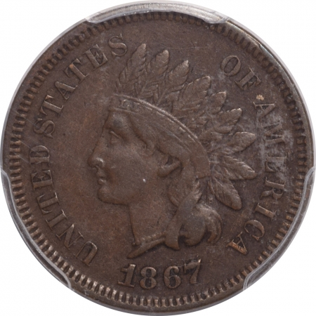 Coin World/Numismatic News Featured Coins 1867/67 INDIAN HEAD CENT – PCGS VF-35
