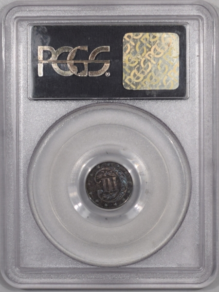 CAC Approved Coins 1868 PROOF THREE CENT SILVER – PCGS PR-65 PREMIUM QUALITY, CAC APPROVED!