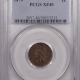 Indian 1869 INDIAN HEAD CENT – PCGS XF-45