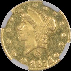 Territorial/California Fractional Gold