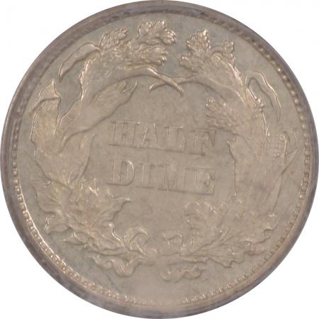 Liberty Seated Half Dimes 1871 PROOF SEATED LIBERTY HALF DIME – PCGS PR-63