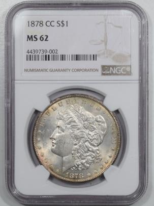 Morgan Dollars 1878-CC MORGAN DOLLAR – NGC MS-62