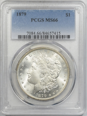 Coin World/Numismatic News Featured Coins 1879 MORGAN DOLLAR PCGS MS-66