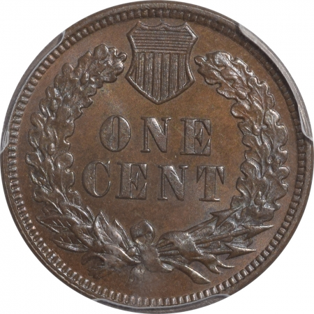 New Certified Coins 1879 PROOF INDIAN CENT – PCGS PR-65 BN, PRETTY, PREMIUM QUALITY & CAC APPROVED!