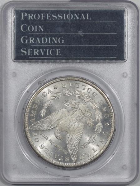 Morgan Dollars 1880-S MORGAN DOLLAR – PCGS MS-65 RATTLER, PQ+, REALLY PRETTY!