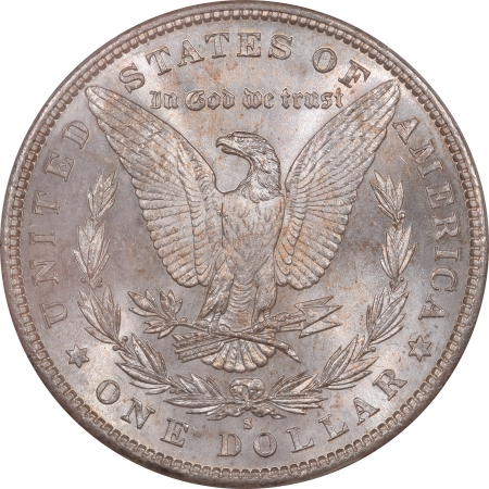 CAC Approved Coins 1881-S MORGAN DOLLAR – PCGS MS-66, FRESH PREMIUM QUALITY & CAC APPROVED!