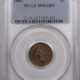 New Certified Coins 1872 INDIAN CENT – PCGS F-15 KEY DATE!