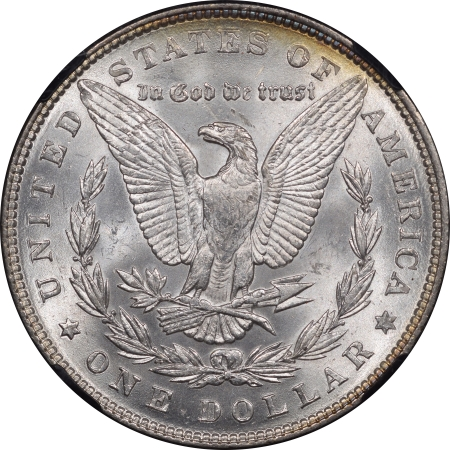 New Certified Coins 1887 MORGAN DOLLAR – NGC MS-66 25TH ANNIVERSARY, PRETTY!
