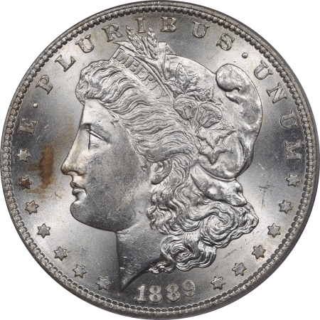 New Certified Coins 1889-S MORGAN DOLLAR – PCGS MS-64