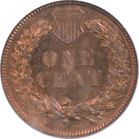 CAC Approved Coins 1892 PROOF INDIAN CENT PCGS PR-65 RB, CAC APPROVED, PRETTY!