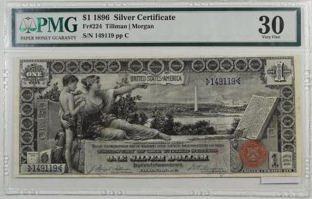 1896-$1-SILVER-CERTIFICATE-PMG-VF30-005-1