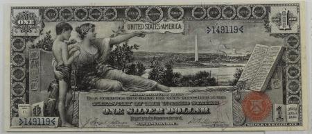 1896-$1-SILVER-CERTIFICATE-PMG-VF30-005-2