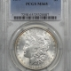 Morgan Dollars 1899 MORGAN DOLLAR – ANACS MS-63 OLD ANA HOLDER, PRETTY!