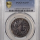 CAC Approved Coins 1837 CAPPED BUST HALF DIME – LARGE 5C LM-1 – NGC AU-58 PQ, CAC APPROVED!