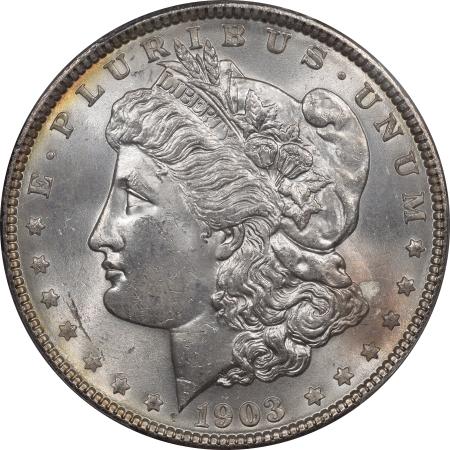 Morgan Dollars 1903 MORGAN DOLLAR – PCGS MS-64