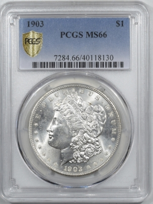 Coin World/Numismatic News Featured Coins 1903 MORGAN DOLLAR – PCGS MS-66