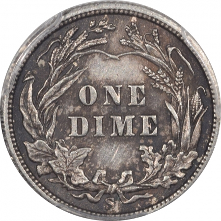 New Certified Coins 1903-S BARBER DIME – PCGS AU-55 RARE!