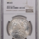 New Certified Coins 1921 MORGAN DOLLAR – NGC MS-63