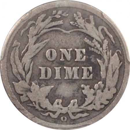 Barber Dimes 1905-O BARBER DIME – MICRO O – PCGS G-6