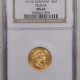 New Certified Coins 1912A GERMANY 10 MARK PRUSSIA GOLD – NGC MS-64, NEAR GEM!