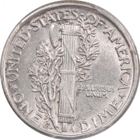Mercury Dimes 1918-D MERCURY DIME – PCGS AU-55