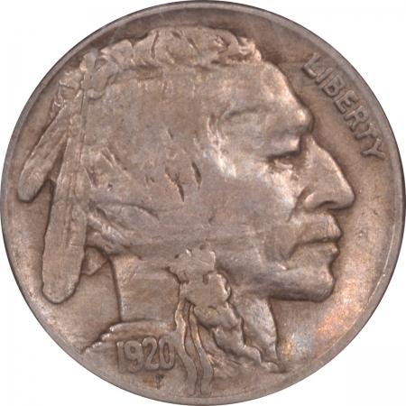New Certified Coins 1920-S BUFFALO NICKEL – NGC VF-35