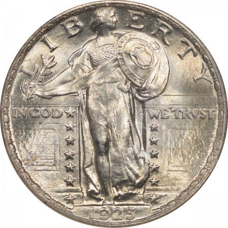 New Certified Coins 1923 STANDING LIBERTY QUARTER – NGC MS-67 PQ, VIRTUALLY FLAWLESS & CAC APPROVED!