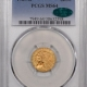 New Certified Coins 1916 $1 MCKINLEY GOLD COMMEMORATIVE – PCGS MS-64