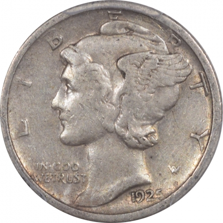 New Certified Coins 1925-S MERCURY DIME – PCGS VF-35