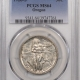 New Certified Coins 1923-S MONROE COMMEMORATIVE HALF DOLLAR – PCGS MS-61