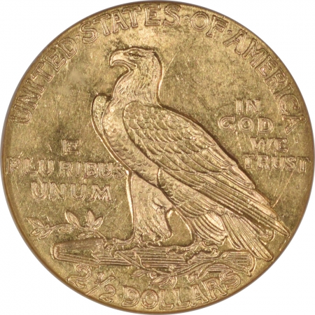 New Certified Coins 1927 $2.50 INDIAN HEAD GOLD – NGC MS-63
