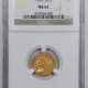 New Certified Coins 1932 $10 INDIAN GOLD – PCGS MS-63