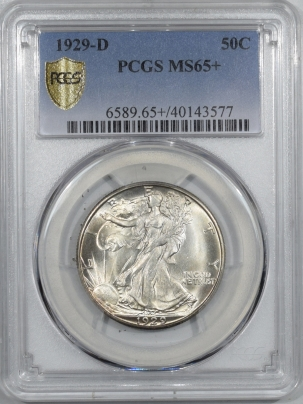 Coin World/Numismatic News Featured Coins 1929-D WALKING LIBERTY HALF DOLLAR – PCGS MS-65+