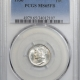 New Certified Coins 1871 PROOF LIBERTY SEATED HALF DIME PCGS PR-64, NEARLY CAMEO!