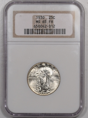New Certified Coins 1930 STANDING LIBERTY QUARTER NGC MS-65 FH, BLAST WHITE & NICE!
