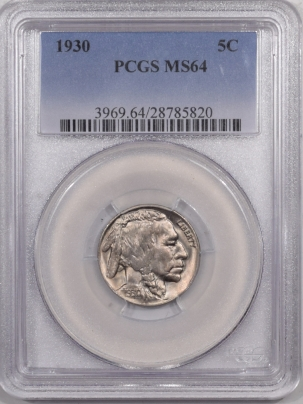 Buffalo Nickels 1930 BUFFALO NICKEL – PCGS MS-64