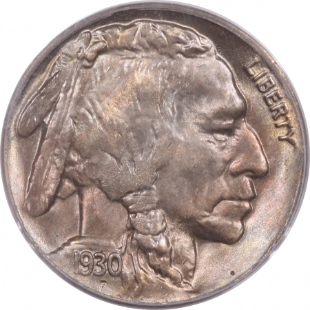 CAC Approved Coins 1930 BUFFALO NICKEL – PCGS MS-65, OGH, PREMIUM QUALITY, PRETTY, CAC APPROVED!