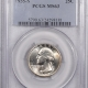 New Certified Coins 1935-D WASHINGTON QUARTER – PCGS MS-66 FRESH & NICE!