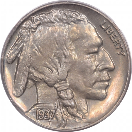 Buffalo Nickels 1937 PROOF BUFFALO NICKEL – PCGS PR-65 CAC APPROVED!